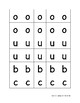 Lowercase Alphabet Tiles & Punctuation