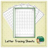 Lowercase Alphabet Tracing Workbook  ~* Start Points *~ Bl