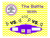 Lowercase B & D and P & Q Printables