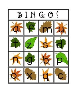 Lowercase Bingo Cards!