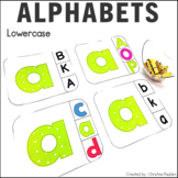 Lowercase Letter Cards
