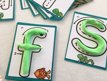 Lowercase Formation Cards