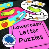 Lowercase Letter Alphabet Puzzles
