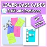 Lowercase Letter Cards NO PREP: Domino Build
