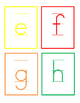 Lowercase Letter Cards _ Colorful