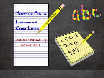 Letter Formation Handwriting Without Tears Interactive SMART Board smartboard