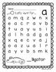 Lowercase Letter Hunt Sampler- FREEBIE
