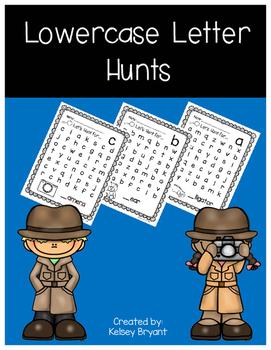 Lowercase Letter Hunts