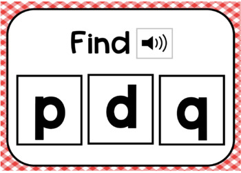 Lowercase Letter Identification Interactive Digital Task Cards (Boom! Deck)