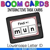 Lowercase Letter Identification Interactive Digital Task C