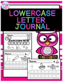 Lowercase Letter Journal (Parent Help Guide)
