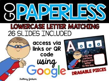 Lowercase Letter Matching using Google Slides