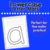 Lowercase Letter Mats