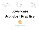 Lowercase Letter Practice