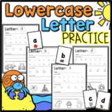 Lowercase Letter Practice {Worksheets}