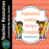 Lowercase Letter Reading Practice Strips