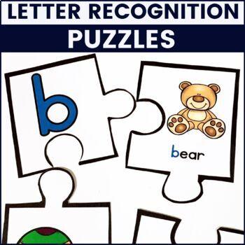 Letter Recognition Bundle - Practice, Centers, Puzzles, and Games