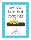 Lowercase Letter Road Tracing Mats (use cars)