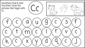 Lowercase Letter Search & Find