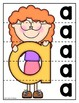 Lowercase Letter Strip Puzzles