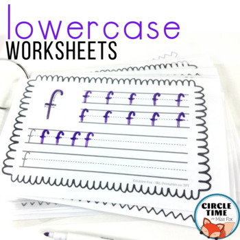Lowercase Letter Worksheets, Lowercase Handwriting, Lowercase Letter Practice