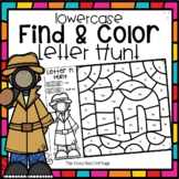 Lowercase Letters-Color by Code
