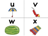 Lowercase Letters Flash Cards
