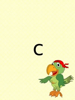 Lowercase Letters (pirate themed)