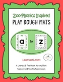 (Lowercase) Alphabet Play Dough Mats