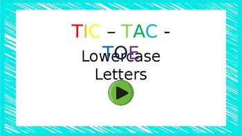 Lowercase Tic-Tac-Toe