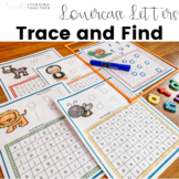 Lowercase - Trace and Find the Alphabet
