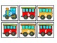 Lowercase Train Alphabet