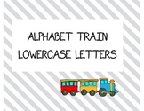 Lowercase Train Alphabet