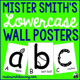 Lowercase Wall Posters