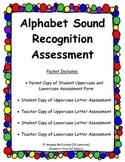 Lowercase and Uppercase Alphabet Sounds Assessment