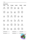 Lowercase and Uppercase Letter Recognition