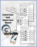 Lowercase and Uppercase Match Bundle