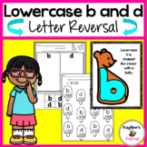 Lowercase b and d Reversal Worksheets and Literacy Centers
