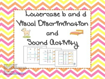 Lowercase b and d Visual Discrimination and Sound Activity