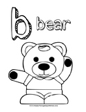 Lowercase b & d recognition worksheets