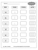 Lowercase stamping and tracing