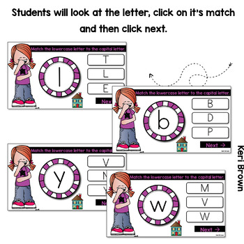 Lowercase to Uppercase Match Digital Center - Click Click Go!