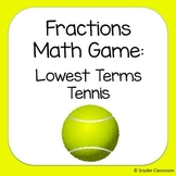 Lowest Terms / Reducing Fractions Game