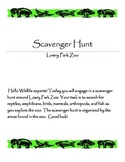 Lowry Park Zoo Scavenger Hunt
