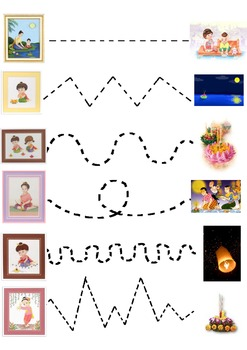 Loy Kratong Join the Dots Worksheet