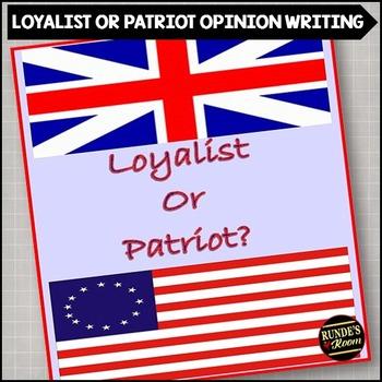 patriots or loyalists essay