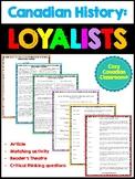 Loyalists Activity Bundle