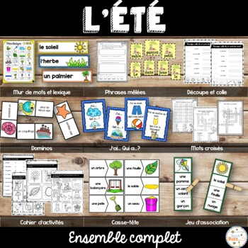 French Summer (été) - Ensemble complet - Bundle