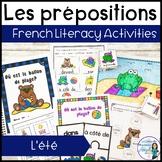 Les prépositions (été): Summer Themed French Preposition Mini-Unit