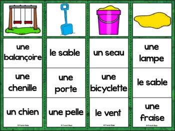 French Summer (été) - jeu d'association - mots